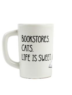 Mug - Bookstore Cats