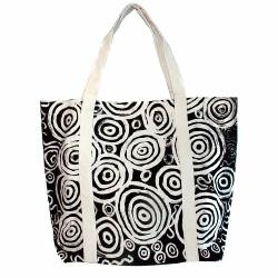 Big Canvas Tote Bag - Seven Sisters Tjukurpa