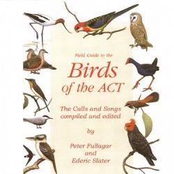 Audio CD - Field Guide to the Birds of the ACT - The Calls and Songs