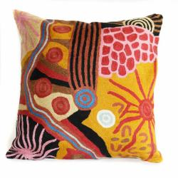 Cushion Cover -Travelling Through Country - Wool 30cm