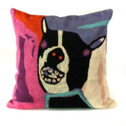 Cushion Cover - Dog at Yuendmu - 40cm