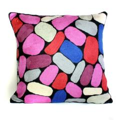 Cushion Cover - Puli Puli Stones - Wool 40cm