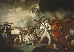 Cook Postcard - Death of Captain Cook