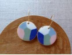Earrings - Seascape Hook Earrings