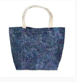 Big Canvas Tote Bag - Daphne Napurrula Marks