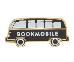 Enamel Pin - Bookmobile