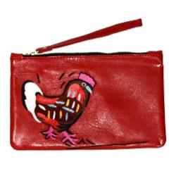 Clutch Bag - Yuendumu Chook