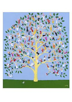 A3 Print - The People Tree