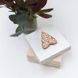 Brooch - Kusama's Muse Moth