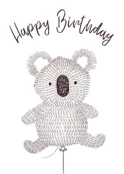 Card - Happy Birthday Koala
