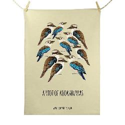Tea Towel - Riot of Kookaburras