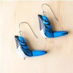 Earrings - Supurb Fairy Wren