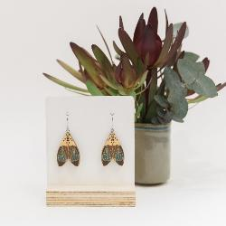 Earrings - Mini The Duke Moths