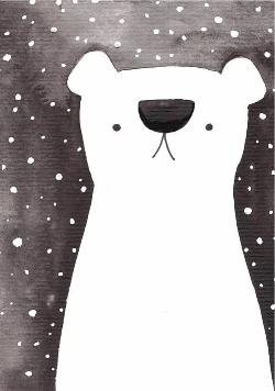 Card - Snow Bear