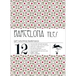 Gift Wrap Book - Barcelona Tiles