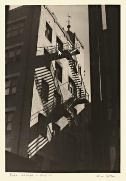 Postcard -  Fire Escape - Australian Dreams