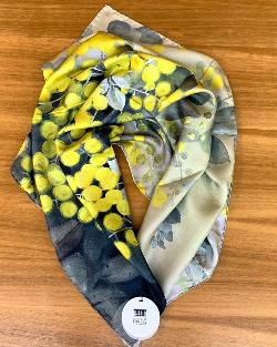 National Library Scarf: Ellis Rowan Wattle Design