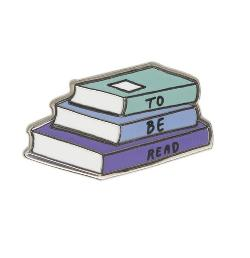Enamel Pin - To Be Read