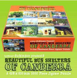 Jigsaw Puzzle - Beautiful Bus Shelters of Canberra