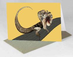 Card - Frillnecked Lizard