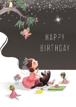 Card - Fairy Happy Birthday