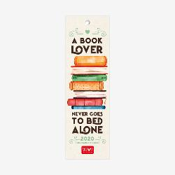 2020 Bookmark Calendar - Book Lover