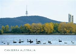 ACT Postcard - Lake Burley Griffin Canberra