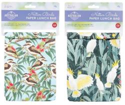 Paper Lunch Bags - Birds (1pk)