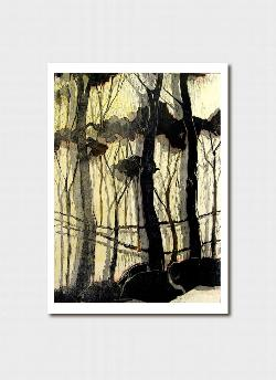 Forest II Greeting Card