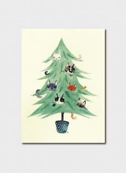 Christmas Card - Catmas