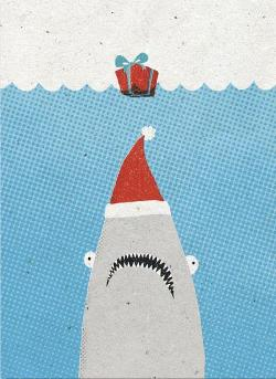 Christmas Card - Jaws
