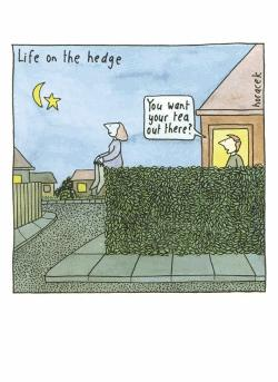 Card - Life on the Hedge