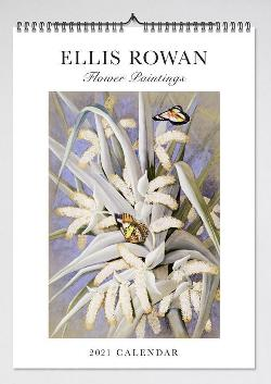 2021 Ellis Rowan Flower Paintings Wall Calendar