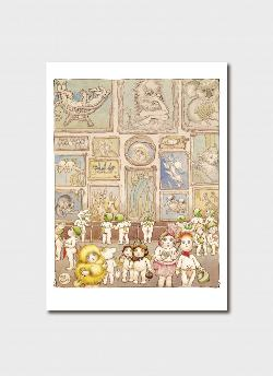Print - 'The Art Gallery' from Little Obelia