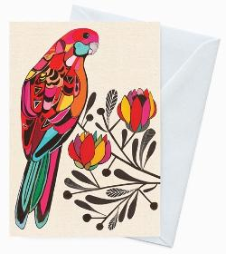 Card - Beautiful Lory Inaluxe