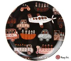 "7"" Fine Bone China Plate - Debbie Coombes"