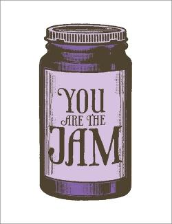 Card - You are the Jam