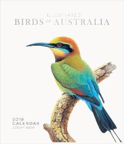 Jeremy Boot Birds of Australia 2018 Wall Calendar