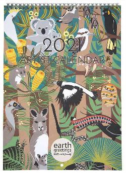 2021 Calendar - Earth Greetings Artist Calendar