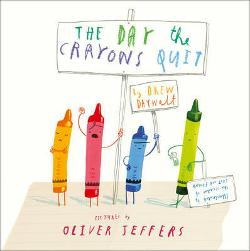 Day the Crayons Quit - Board Book