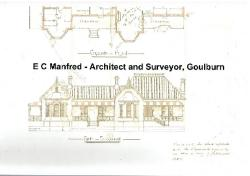 E C Manfred - Architect and Surveyor, Goulburn