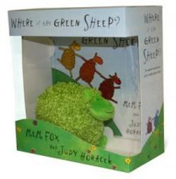 Where is the Green Sheep ? Hardback book and plush toy boxed set