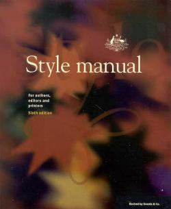 Style Manual: Sixth Edition - Paperback