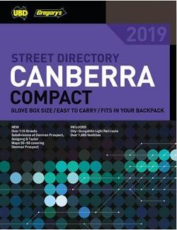 Canberra Compact Street Directory 2019 7th ed