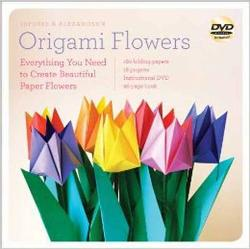 Lafosse and Alexander's Origami Flowers Kit