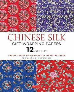 Chinese Silk Gift Wrapping Paper Book