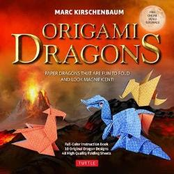 Origami Dragons Kit - Magnificent Paper Models That Are Fun to Fold! (Free Online Video Tutorials!)