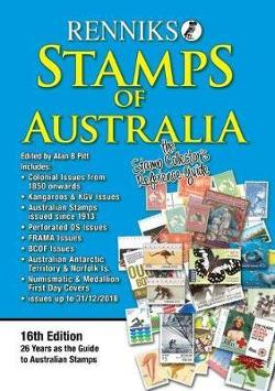 Renniks Stamps of Australia 16th Edition - The Stamp Collectors Reference Guide