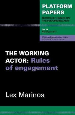 Platform Papers 53: The Working Actor - Rules of engagement