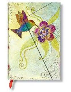 Hummingbird Mini Wrap Lined - Notebook